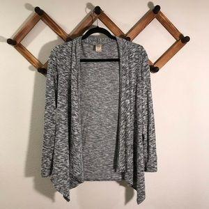 Cotton Emporium | grey long sleeve cardiga…